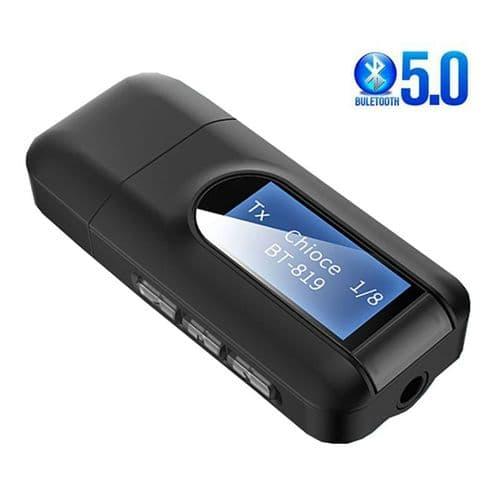 Adaptateur Bluetooth 5.0 Aptx Émetteur Récepteur Audio Sans Fil Usb 3,5Mm